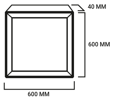 diagrama panel 60x60