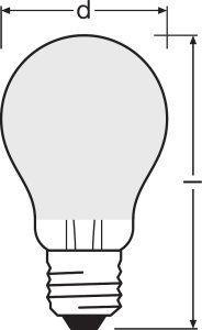 Bombilla LED Parathom Retrofit Classic