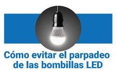 parpadeo bombillas LED