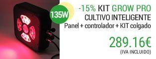 kit cultivo interior de 135W
