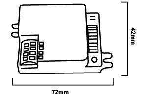 Medidas sensor microondas