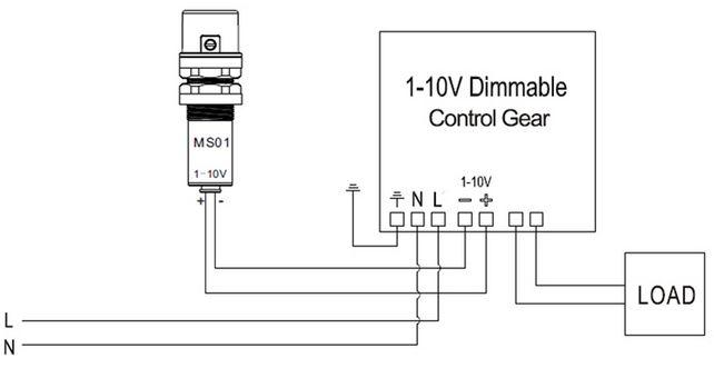 instalación sensor fotocelula s8100-c
