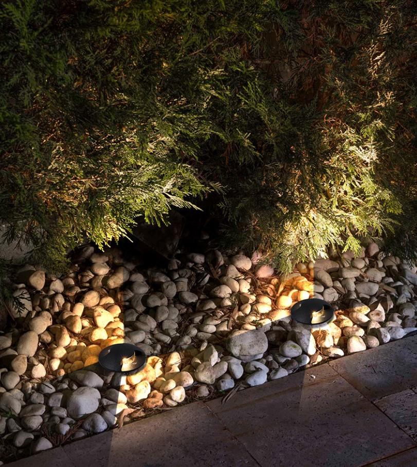 iluminacion exterior jardin
