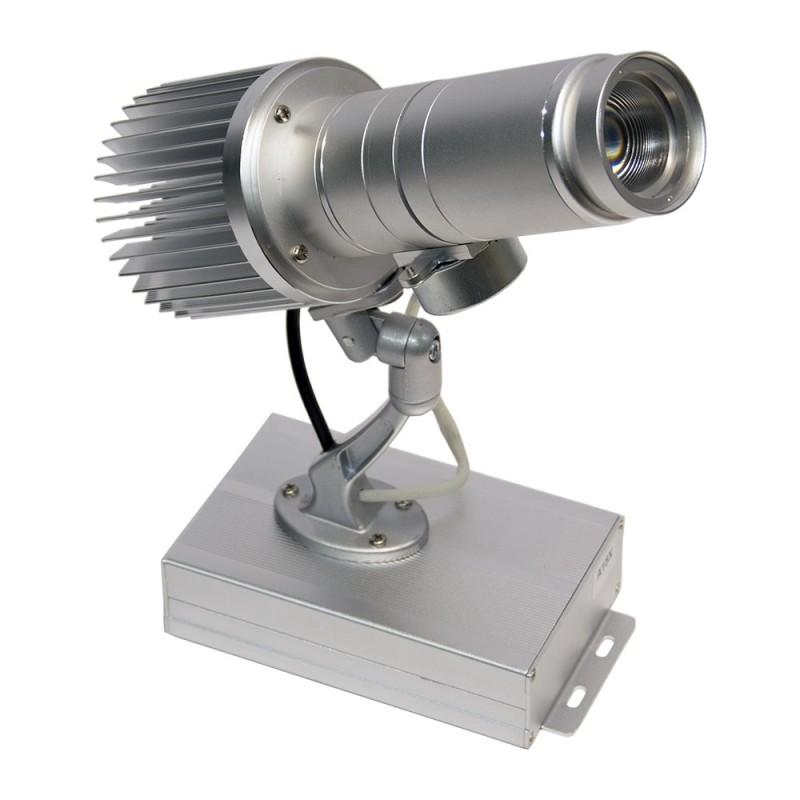 Projetor de logótipos LED rotativo 15W IP30