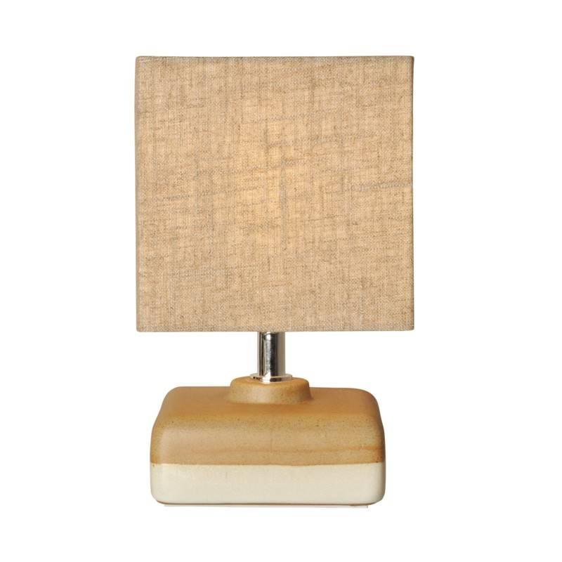 """Candeeiro de mesa de cerámica """"Quadrada"""" E14 máx25W"""
