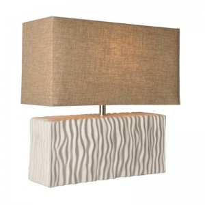 """Candeeiro de mesa de cerámica """"Retangular"""" máx.25W E27"""
