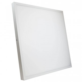 Painel LED de superfície 60X60 cm 48W 3280lm moldura branca