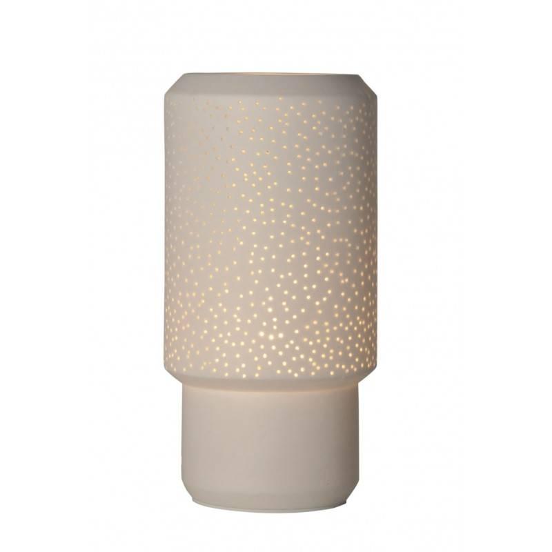 Candeeiro de mesa moderno de cerâmica E14
