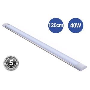Luminaria linear LED 120cm de alta potência CCT com sensor IP20
