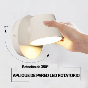 """Aplique de parede LED """"KOP"""" orientável 6W"""