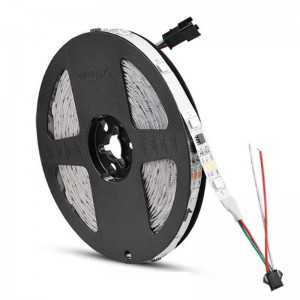 Fita LED RGB Inteligente IC 12V/DC 5 Metros IP20
