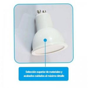 Lâmpada dicróica GU10 LED 6W regulável