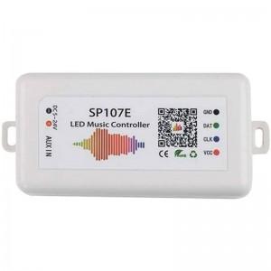 Controlador musical para fita LED RGBW IC Pixel SPI Bluetooth e Wifi
