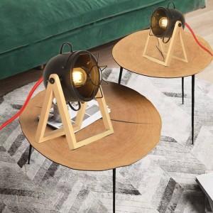 """Candeeiro de mesa vintage """"TACHICOM"""" E27"""