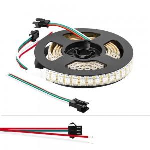 Fitas LED inteligente IC 5V/DC 2 metros 144ch/m IP20