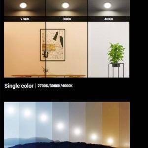 Lâmpada dicroica LED 6W Regulável 1800-3000K 550lm