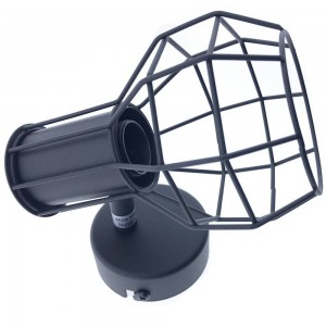 """Aplique de parede ou teto de gaiola """"AZOR"""" E14"""