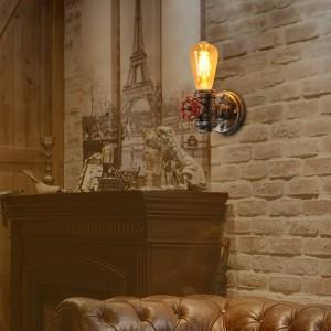 "Aplique de parede vintage ""LUXXO"" tubagem E27"