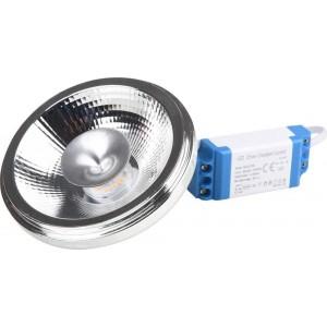 Lâmpada LED AR111 12W com Driver externo IP20
