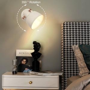 """Aplique de parede nórdico orientável """"KUKKA"""" E14"""