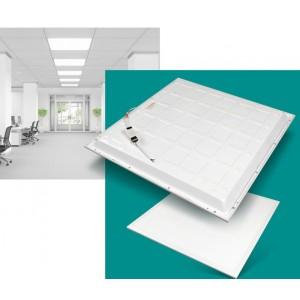 Painel LED encastrável backlight retroiluminado 60x60cm 42W
