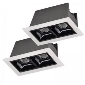 Focos LED Downlight Linear de empotrar 4W UGR19