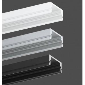 Pack econômico perfil de aluminio de superfície 17x8mm