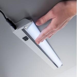 Luminária linear LED orientável 10W IP20