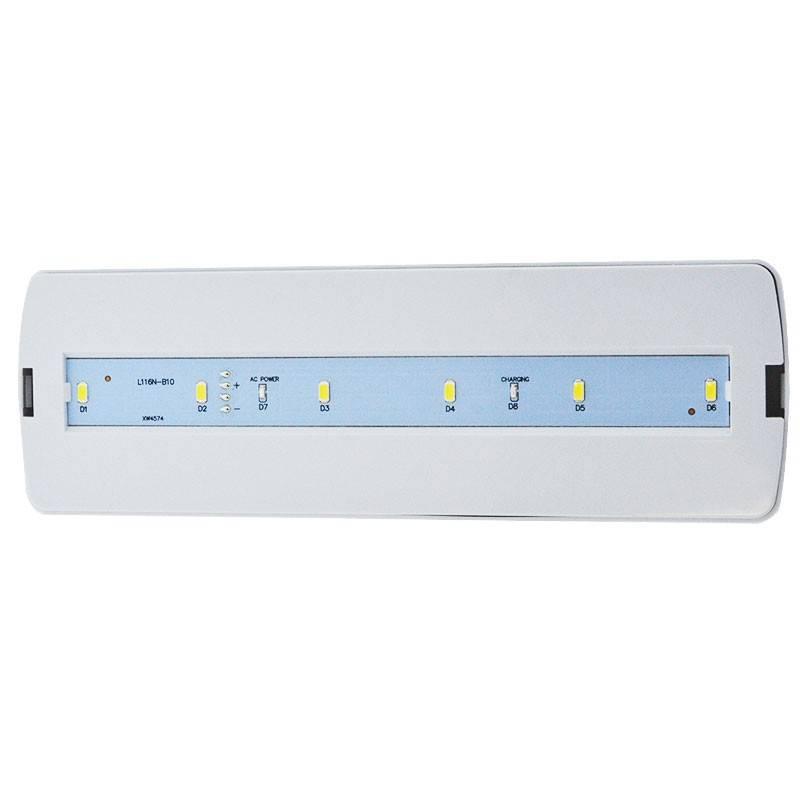 Luz de Emergência AutoTesting 3W 250LM 3 hrs de autonomia