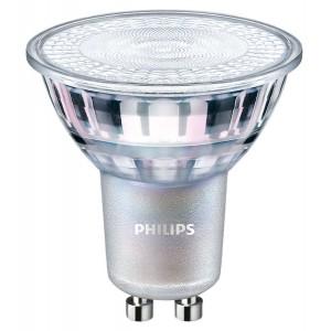 Lâmpada LED GU10 regulável 4W 60º 270lm - Refletor LED Philips Master