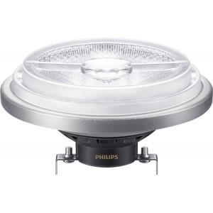 Lâmpada LED AR111 G53 regulável 15W 40º 870lm - MAS LED Philips