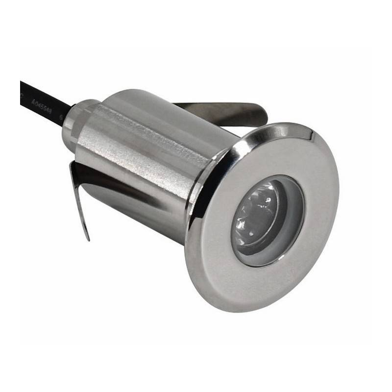 Foco LED de piso Iluminador de parede RGB 3W 12V IP67