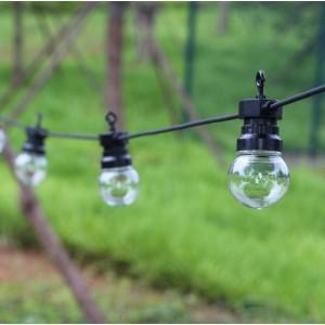 Grinalda LED exterior com 10 lâmpadas integradas 8m. IP44