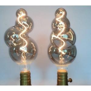 "Lâmpada LED de filamento ""BUBBLE"" E27"
