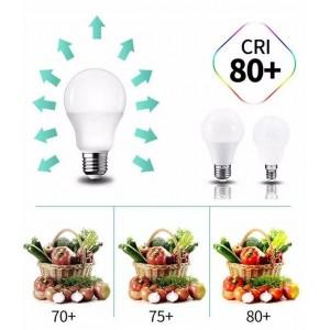 Lâmpada LED E27 9W A60 815lm