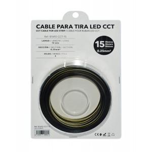 Cabo para fita LED CCT - 15 metros