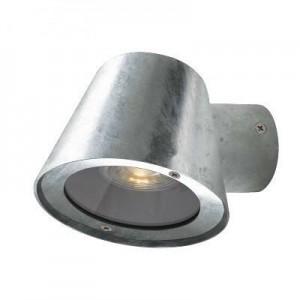 """Aplique de parede para exterior """"Steel"""" IP44 GU10"""