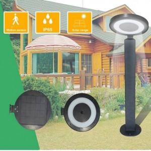 Base tipo bolardo para Candeeiro Solar LED exterior IP65