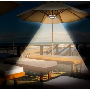Refletor interior para Chapéu-de-sol de terraço LED 1,5W, 5V IP44