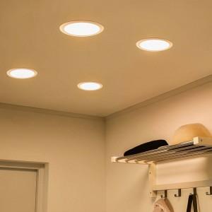 Luminária Downlight LED Multifuncional CCT 24W