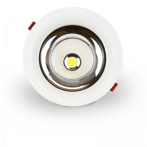 Foco LED encastrável 30W Especial para Frutas e Verduras