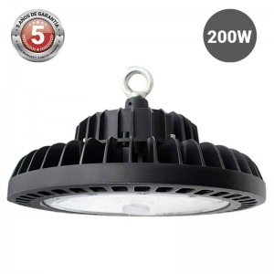 Campânula Industrial UFO 200W IP65
