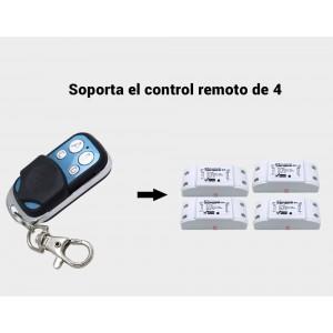 Controle remoto sem fio Wifi 4 botões | SONOFF