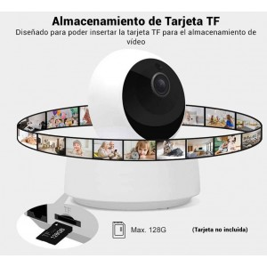 Câmera de Segurança WiFI 1080P H.264 360º | SONOFF