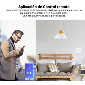 SONOFF TOUCH Interruptor duplo táctil WiFi / SmartHome