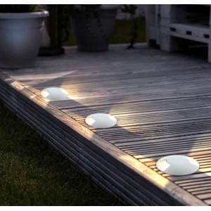 Baliza foco LED encastrável no pavimento 0,75W 12V-DC IP67