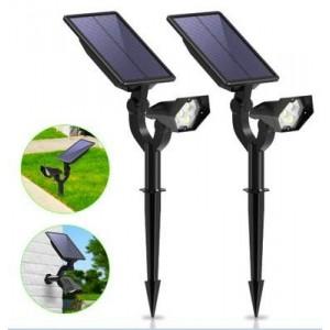 Foco solar LED com sensor 2W