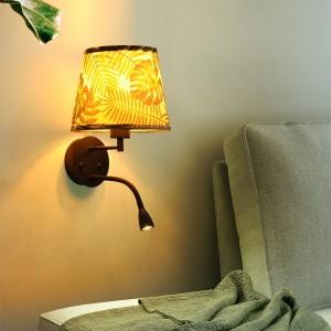 """Aplique de parede """"PAIR"""" E27 com foco LED de leitura 1W"""