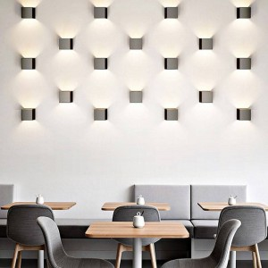 """Aplique de parede LED """"KUUTIO"""" 6W"""