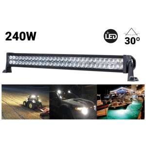 Barra LED todoterreno 4x4, 240W 30º 1065mm